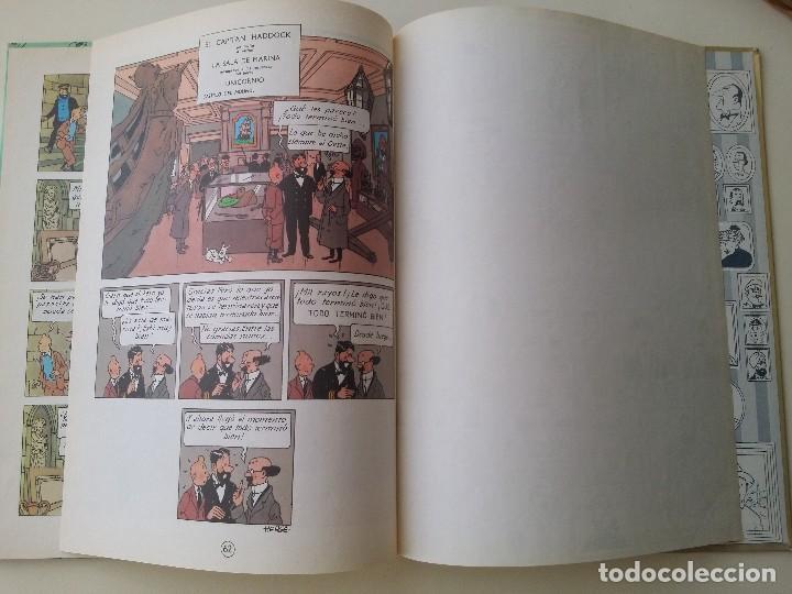 Cómics: TINTIN EL TESORO DE RACKHAM EL ROJO, ED. JUVENTUD 10ª 1984 - Foto 5 - 124271547