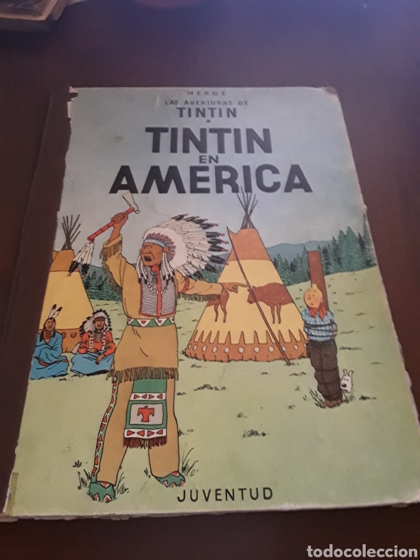TINTÍN EN AMÉRICA PRIMERA EDICIÓN 1968 (Tebeos y Comics - Juventud - Tintín)
