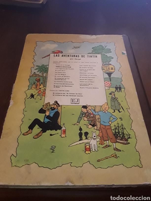Cómics: Tintín en América primera edición 1968 - Foto 2 - 124526414