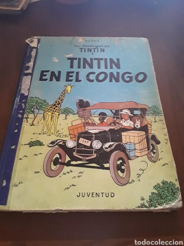 TINTÍN EN EL CONGO PRIMERA EDICIÓN (Tebeos y Comics - Juventud - Tintín)