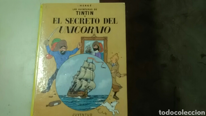 TINTIN .EL SECRETO DEL UNICORNIO .ED.JUVENTUD .HERGÉ.10*ED. 1985 (Tebeos y Comics - Juventud - Otros)