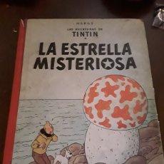 Cómics: TINTÍN Y LA ESTRELLA MISTERIOSA SEGUNDA EDICIÓN. Lote 124628591