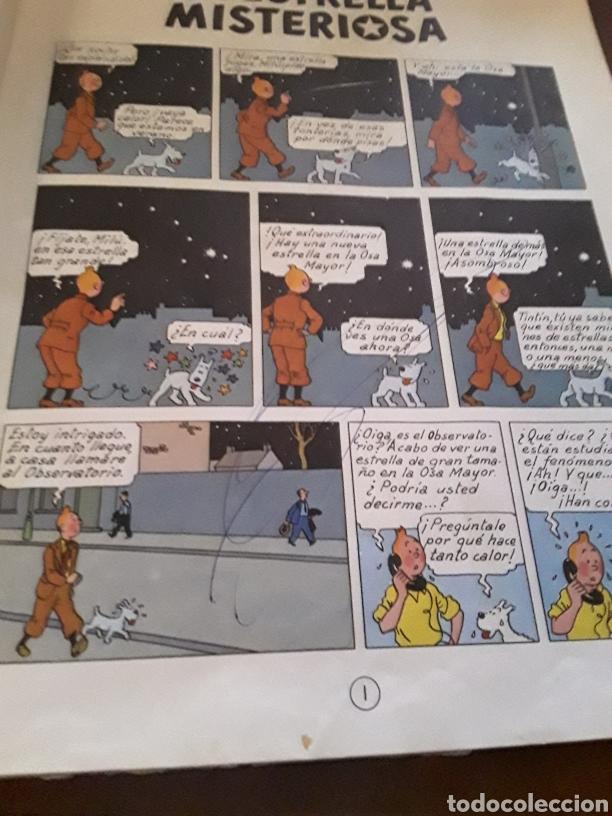 Cómics: Tintín y la estrella misteriosa segunda edición - Foto 3 - 124628591