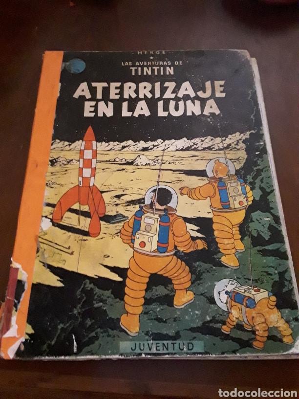 TINTÍN ATERRIZAJE EN LA LUNA SEGUNDA EDICIÓN 1964 (Tebeos y Comics - Juventud - Tintín)