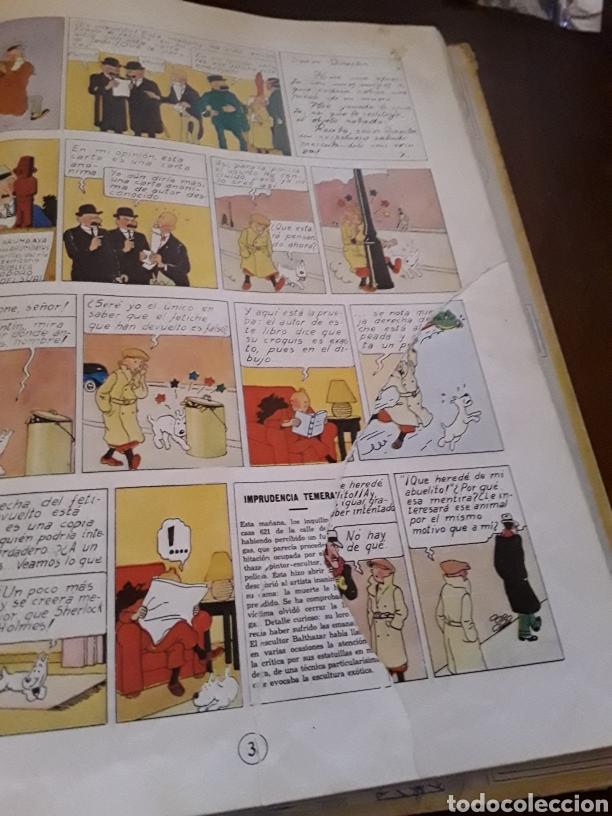 Cómics: Tintín la oreja rota primera edición - Foto 3 - 124628968