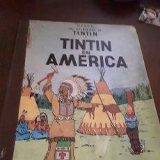Cómics: TINTÍN EN AMÉRICA PRIMERA EDICIÓN 1968. Lote 124629175