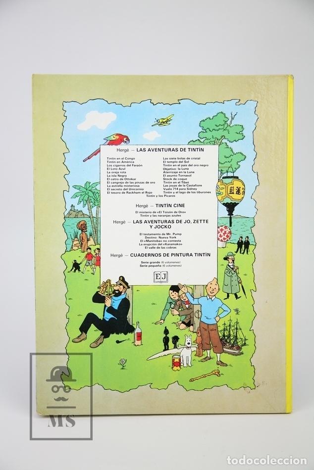 Cómics: Cómic Tapa Dura - Tintin, Aterrizaje En La Luna - Editorial Juventud - Año 1979 - Foto 4 - 124786899