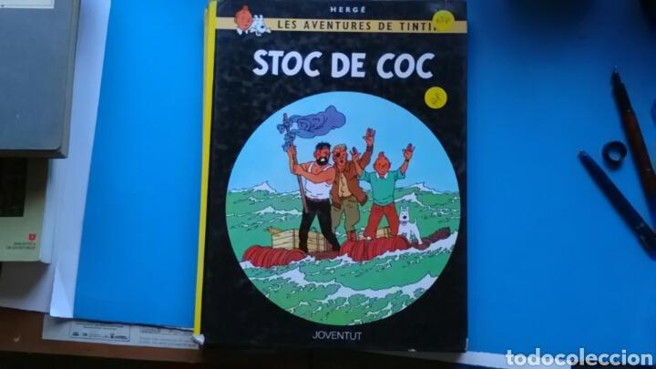 STOC DE COC HERGÉ. ED. JOVENTUD . EN CATALÁN. (Tebeos y Comics - Juventud - Tintín)