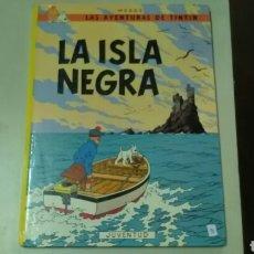Cómics: LA ISLA NEGRA .TINTIN HERGÉ. Lote 125287631