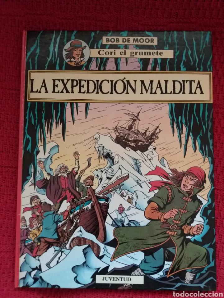 BOB DE MOORE CORI EL GRUMETE - LA EXPEDICIÓN MALDITA- (Tebeos y Comics - Juventud - Cori el Grumete)