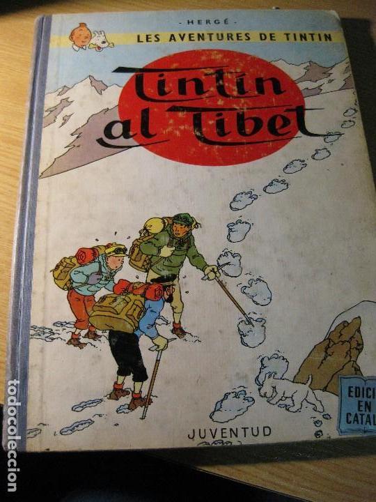 TINTIN AL TIBET . CATALAN . 2 EDICIÓN - AÑO 1970 LOMO EN TELA (Tebeos y Comics - Juventud - Tintín)