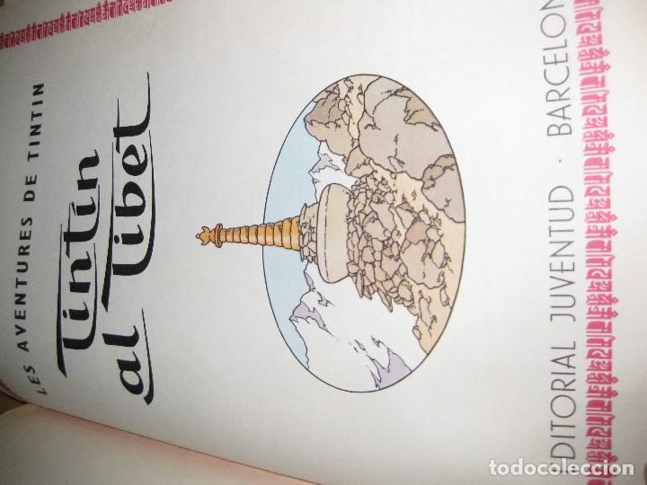 Cómics: tintin al tibet . catalan . 2 edición - año 1970 lomo en tela - Foto 2 - 125860847