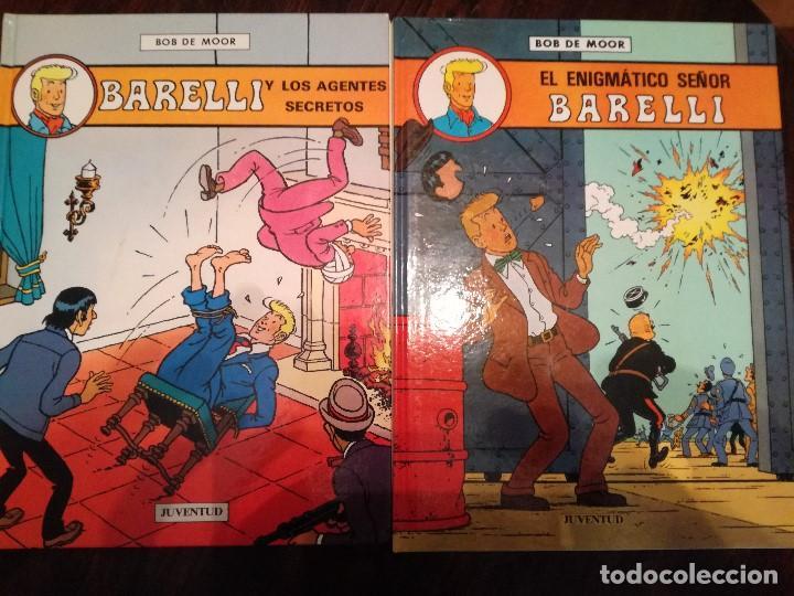 BARELLI Y LOS AGENTES SECRETOS , EL ENIGMATICO SEÑOR BARELLI. JUVENTUD Y BARELLI EN NUSA PENIDA (Tebeos y Comics - Juventud - Barelli)