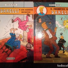 Cómics: BARELLI Y LOS AGENTES SECRETOS , EL ENIGMATICO SEÑOR BARELLI. JUVENTUD Y BARELLI EN NUSA PENIDA. Lote 126113679