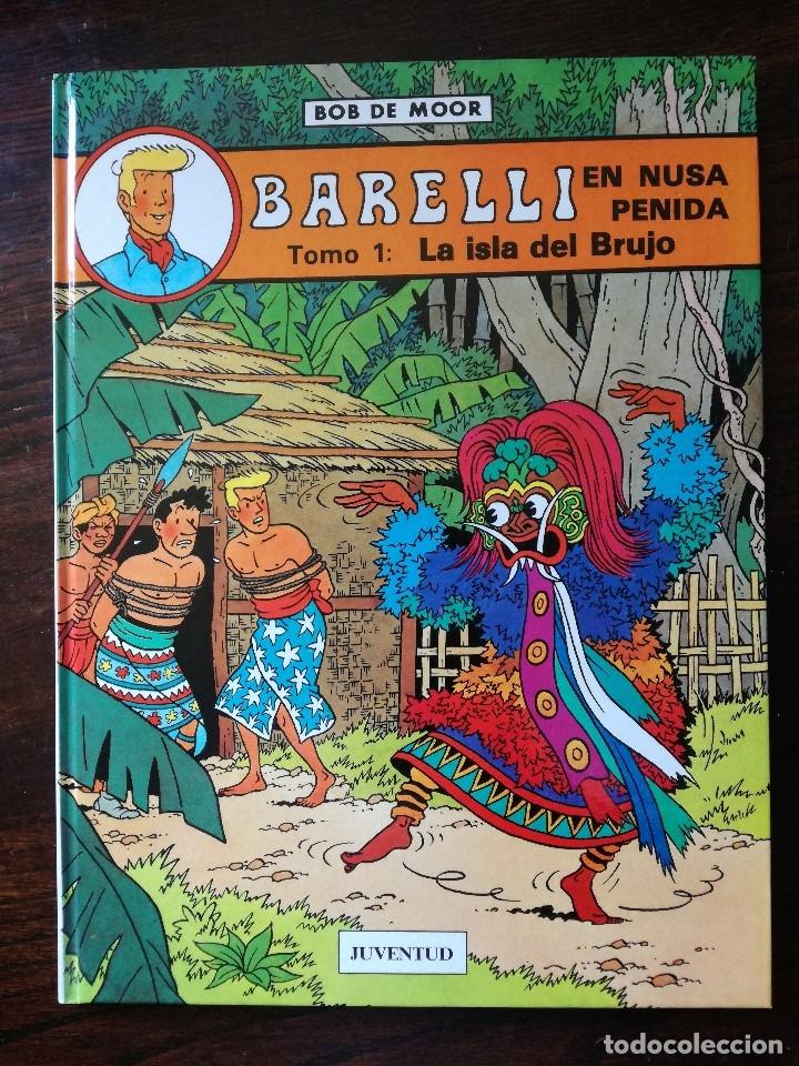 Cómics: BARELLI Y LOS AGENTES SECRETOS , EL ENIGMATICO SEÑOR BARELLI. JUVENTUD Y BARELLI EN NUSA PENIDA - Foto 2 - 126113679