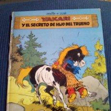 Cómics: YAKARI Nº 6 Y EL SECRETO DE HIJO DE TRUENO. Lote 126186043