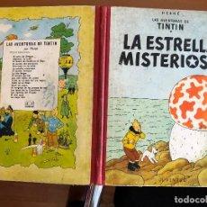 Cómics: TINTIN LA ESTRELLA MISTERIOSA SEGUNDA EDICION. Lote 126344803