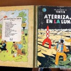 Cómics: TINTIN ATERRIZAJE EN LA LUNA EDICION 1965. Lote 126347923