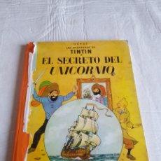 Cómics: TINTÍN EL SECRETO DEL UNICORNIO TERCERA EDICIÓN. Lote 126650327