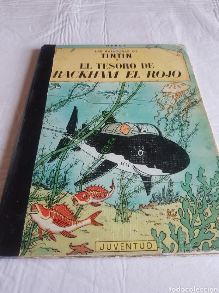 TINTIN EL TESORO DE RACKHAM EL ROJO SEGUNDA EDICIÓN (Tebeos y Comics - Juventud - Tintín)