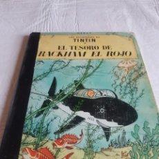 Cómics: TINTIN EL TESORO DE RACKHAM EL ROJO SEGUNDA EDICIÓN. Lote 126650388