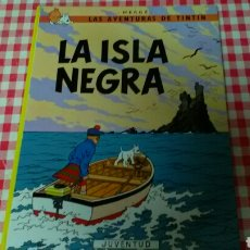 Cómics: LA ISLA NEGRA . HERGÉ TINTIN ED. JUVENTUD. Lote 126706746
