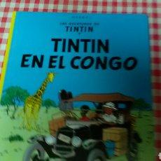 Cómics: TINTIN EN EL CONGO .HERGÉ . ED. JUVENTUD. Lote 126706922