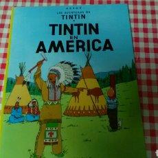 Cómics: TINTIN EN AMÉRICA .HERGÉ .ED. JUVENTUD. Lote 126741840