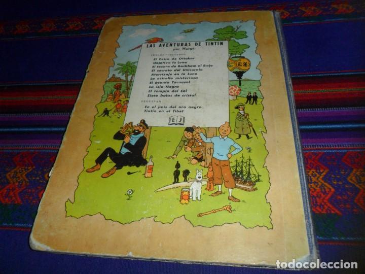 Cómics: TINTIN EL TEMPLO DEL SOL 1ª PRIMERA EDICIÓN 1961. EDITORIAL JUVENTUD. DIFÍCIL. - Foto 3 - 126869643