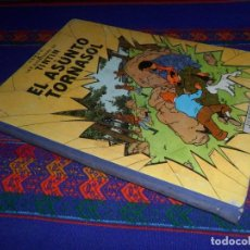 Cómics: TINTIN EL ASUNTO TORNASOL 1ª PRIMERA EDICIÓN 1961. EDITORIAL JUVENTUD. DIFÍCIL.. Lote 126869867