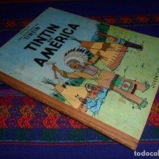 Comics : TINTIN EN AMÉRICA 1ª PRIMERA EDICIÓN 1968. EDITORIAL JUVENTUD. CORRECTO ESTADO.. Lote 126870571