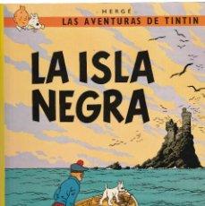 Cómics: LAS AVENTURAS DE TINTIN-LA ISLA NEGRA-1996. Lote 126872339