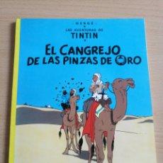 Cómics: TINTÍN EL CANGREJO DE LAS PINZAS DE ORO 9°ED. 1984. Lote 127270326