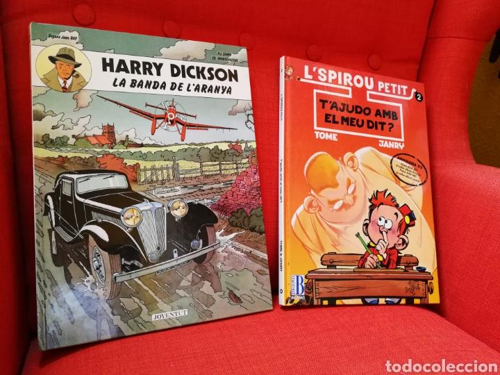 HARRY DICKSON-L'SPIROU PETIT. PRIMERAS EDICIONES.LOTE 2 CÒMICS EN CATALÀ (Tebeos y Comics - Juventud - Otros)