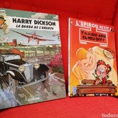 Cómics: HARRY DICKSON-L'SPIROU PETIT. PRIMERAS EDICIONES.LOTE 2 CÒMICS EN CATALÀ. Lote 127491167