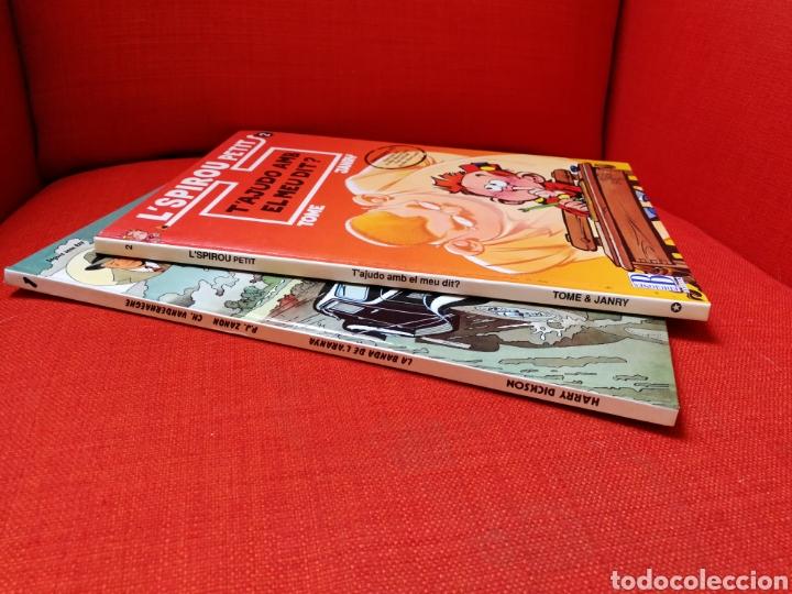 Cómics: HARRY DICKSON-LSPIROU PETIT. PRIMERAS EDICIONES.LOTE 2 CÒMICS EN CATALÀ - Foto 2 - 127491167