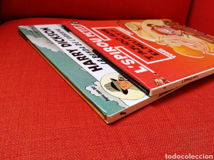 Cómics: HARRY DICKSON-LSPIROU PETIT. PRIMERAS EDICIONES.LOTE 2 CÒMICS EN CATALÀ - Foto 4 - 127491167