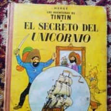 Cómics: LAS AVENTURAS DE TINTÍN - EL SECRETO DEL UNICORNIO - HERGÉ - JUVENTUD - AÑO 1965 - TERCERA EDICIÓN.. Lote 127632064