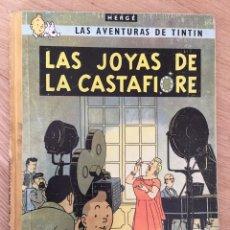 Cómics: TINTÍN - LAS JOYAS DE LA CASTAFIORE. SEGUNDA EDICIÓN 1965. Lote 127739772