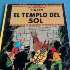 Cómics: CÓMIC LAS AVENTURAS DE TINTÍN,EL TEMPLO DEL SOL AÑO 1981. Lote 127911335