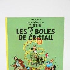 Cómics: CÓMIC DE TAPA DURA EN CATALÁN - LES 7 BOLES DE CRISTALL - EDITORIAL JUVENTUD - AÑO 1978, 2ª EDICIÓN. Lote 127927855