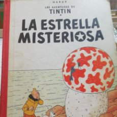 Cómics: TINTÍN. LA ESTRELLA MISTERIOSA.3A EDICIÓN. 1967.. Lote 127946011