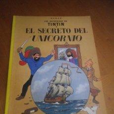 Cómics: TINTIN EL SECRETO DEL UNICORNIO. Lote 128039071