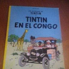 Cómics: TINTIN EN EL CONGO. Lote 128039243
