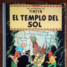 Cómics: TINTIN - EL TEMPLO DEL SOL - 2ª EDICIÓN. Lote 128129299