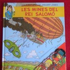 Cómics: LES AVENTURES DE JANUARY JONES Nº 3 LES MINES DEL REI SALOMÓ 1ª EDICIÓ DE 1994. Lote 128160423
