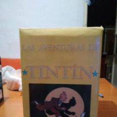 Cómics: TINTÍN COMPLETA 25 ALBUMES NUEVOS TAPA DURA Y CON CAJA REALIZADA POR COLECCIONISTA. JUVENTUD. Lote 128187919
