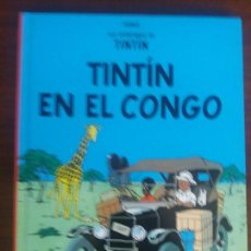 Cómics: TINTIN HERGÉ EDICIÓN CASTERMAN RETIRADA DE LAS TIENDAS EN EL CONGO. Lote 128199671
