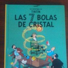 Cómics: TINTIN HERGÉ EDICIÓN CASTERMAN RETIRADA DE LAS TIENDAS LAS 7 BOLAS DE CRISTAL. Lote 128199927