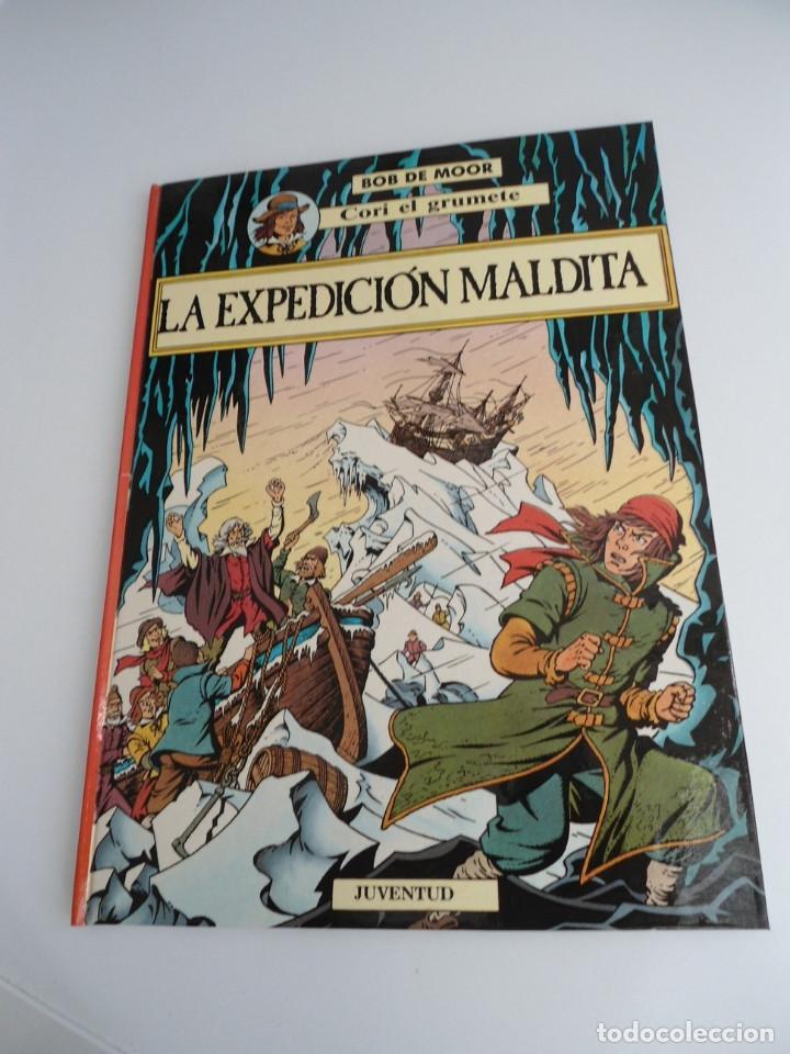 CORI EL GRUMETE LA EXPEDICION MALDITA - BOB MOOR - JUVENTUD 1989 - PRIMERA EDICION -EXCELENTE ESTADO (Tebeos y Comics - Juventud - Cori el Grumete)
